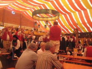 germans at volksfest