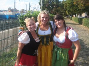us in our german gear